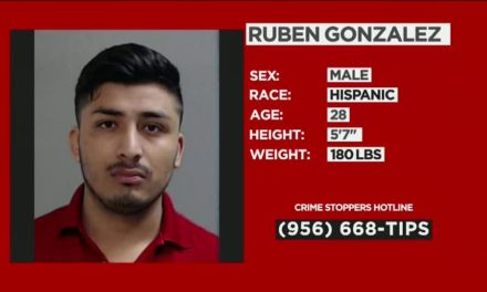 28-Year-Old Wanted In Hidalgo County For Family Violence