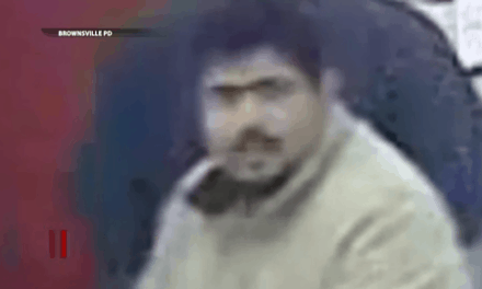 Brownsville Police Search For Theft Suspect