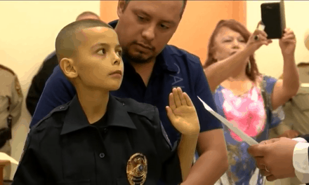 Alton Police Name 9-Year-Old Boy Honorary Captain