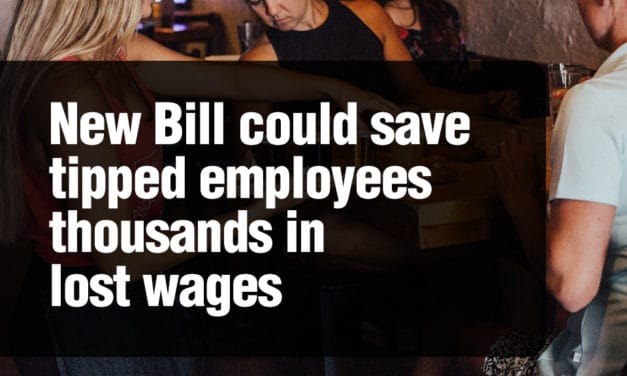 New Bill could save tipped employees thousands in lost wages