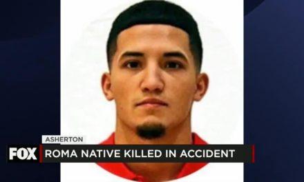 Roma Native Killed in Accident