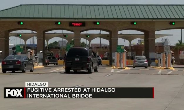 North Carolina Fugitive Arrested at the Hidalgo Bridge
