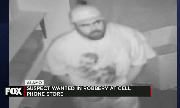 Alamo Robbery Suspect Sought after Stealing Thousands in Cell Phones