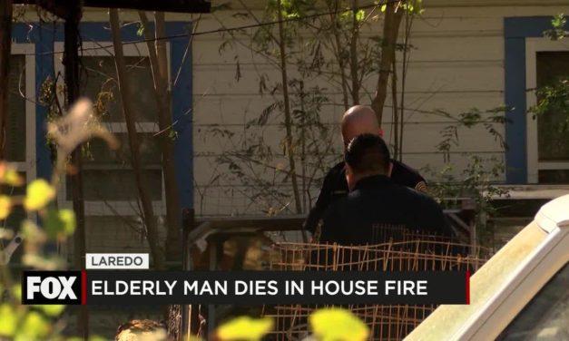 Elderly Man Dies in House Fire
