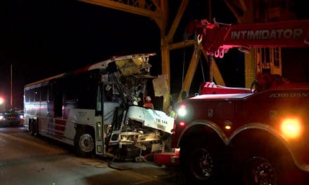 Bus Crash at Rio Hondo Bridge