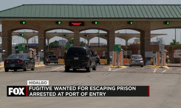 Fugitive Arrested at Port of Entry