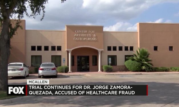 Trial continues for Dr. Jorge Zamora-Quezada, Accused of healthcare fraud