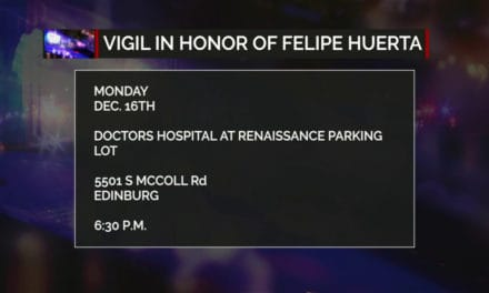 Vigil in Honor of EMT Felipe Huerta
