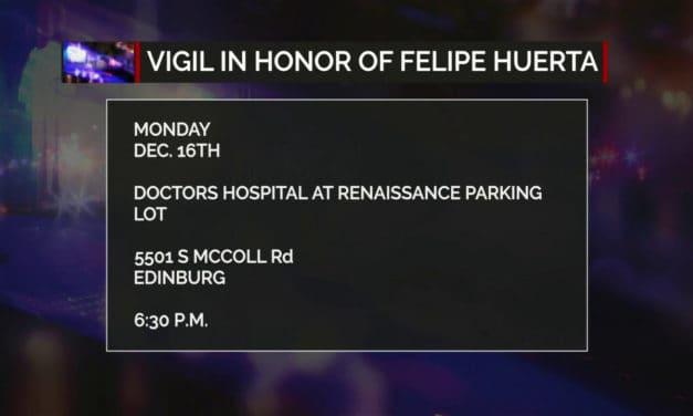 Vigil in Honor of EMT Felipe Huerta
