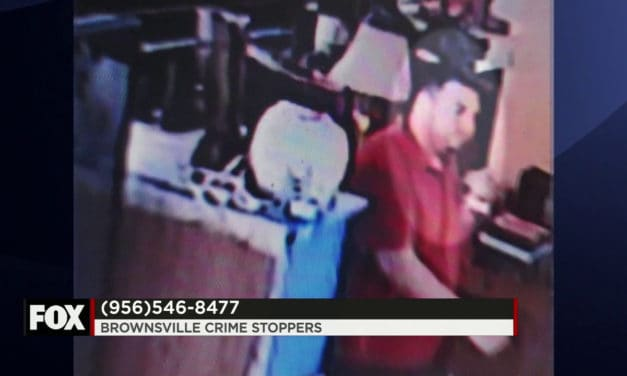 Brownsville Police Need Your Help in Locating this suspect