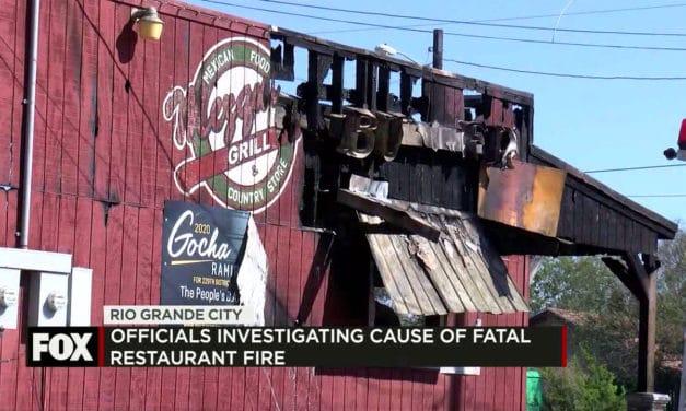 Rio Grande City Restaurant Catches Fire, One Dead