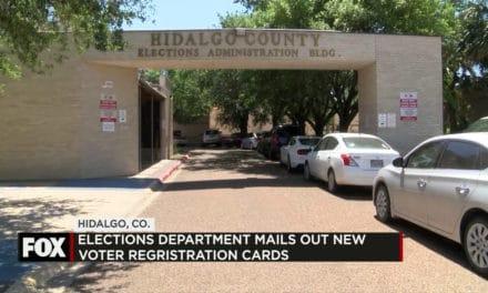 Elections Dept Mails out thousands of Voter Registration Cards