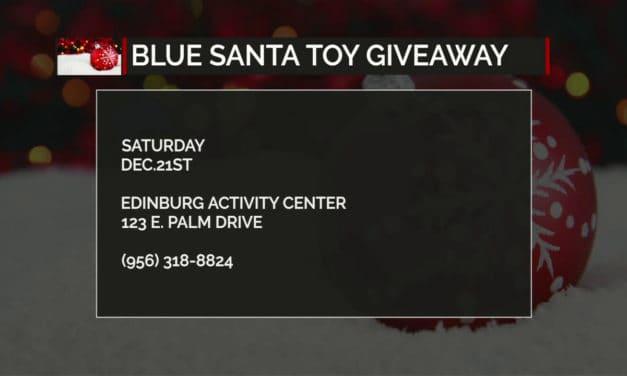 Edinburg Blue Santa Giveaway