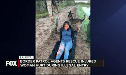 Border Patrol Rescue Injured Woman Hurt during Illegal Entry