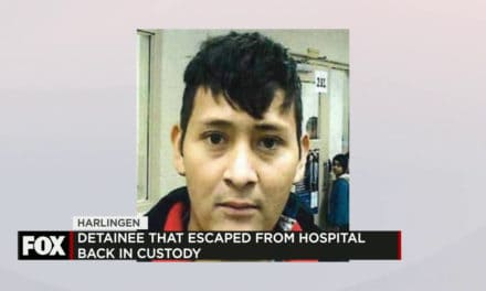 Escaped Detainee Back in Custody