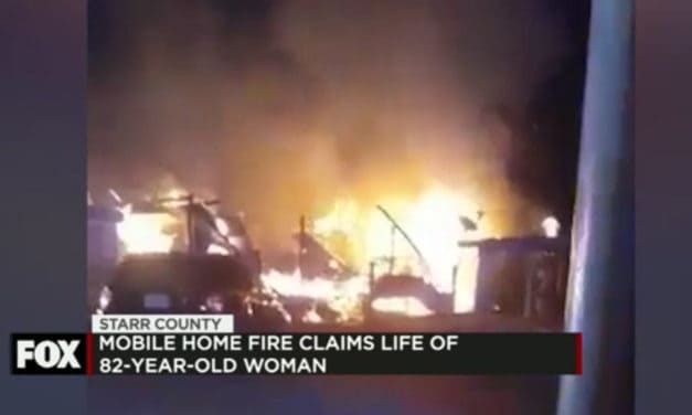Mobile Home Fire Claims Life of 82-Year-Old Woman