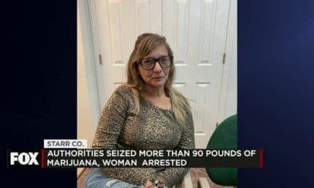 Authorities Seize over 90lbs of Marijuana, Woman Arrested