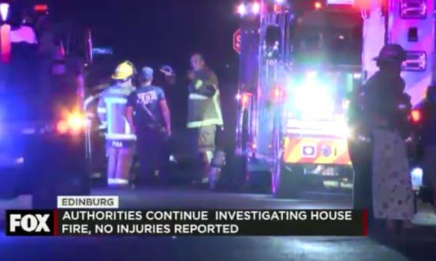 House Fire in Edinburg