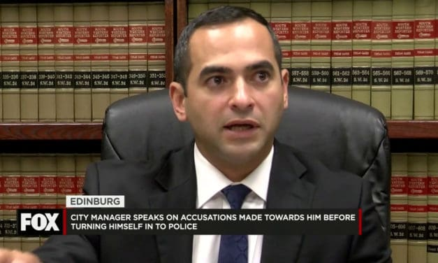 City Manager Speaks on Accusations before Turning Himself in to the Police