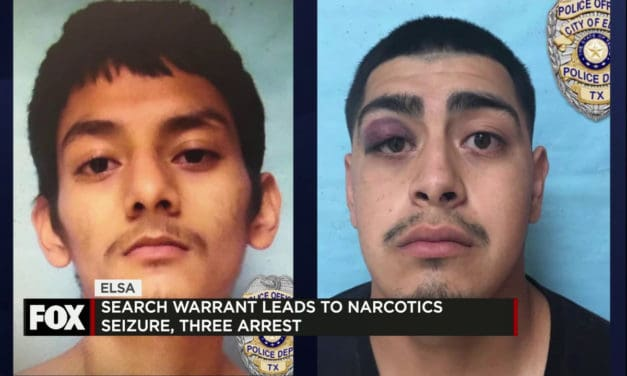 three arrests during a narcotics search warrant