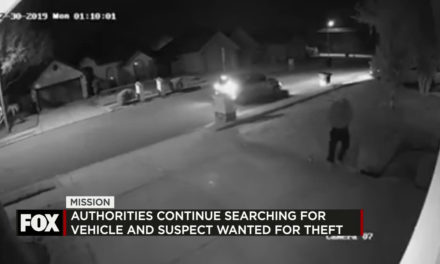 Authorities Search for Porch Pirate in Mission