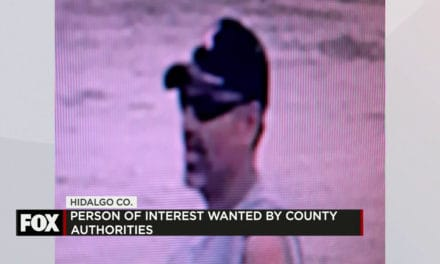 Person of Interest Wanted by County Authorities