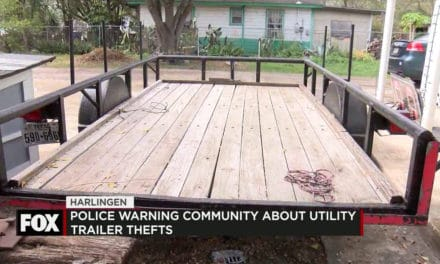Police Warning Community About Utility Trailer Thefts