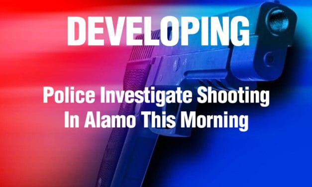Police Investigate Shooting In Alamo This Morning