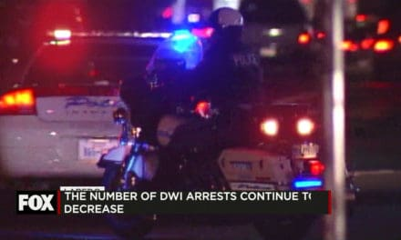 The Number of DWI Arrests Continues to Decrease