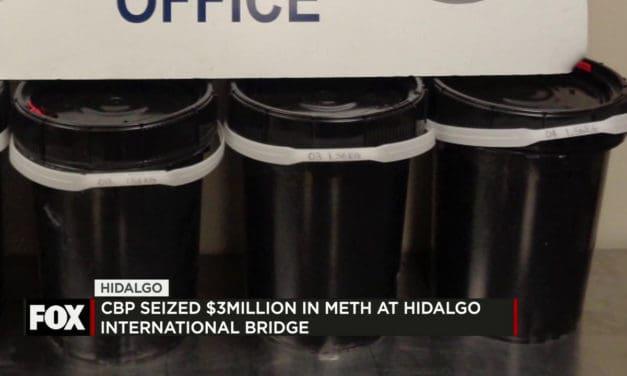 CBP Seizes Over $3 Million in Liquid Methamphetamine