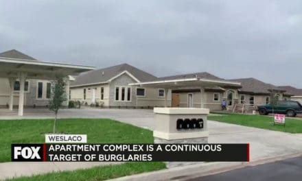 Apartment Complex has become the Target of Continous Burglaries