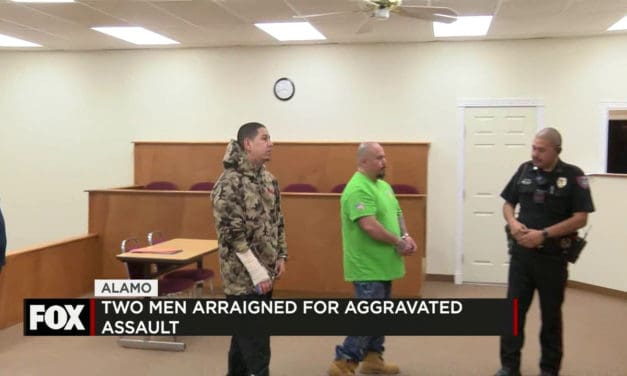 Two Men Arraigned for Aggravated Assault