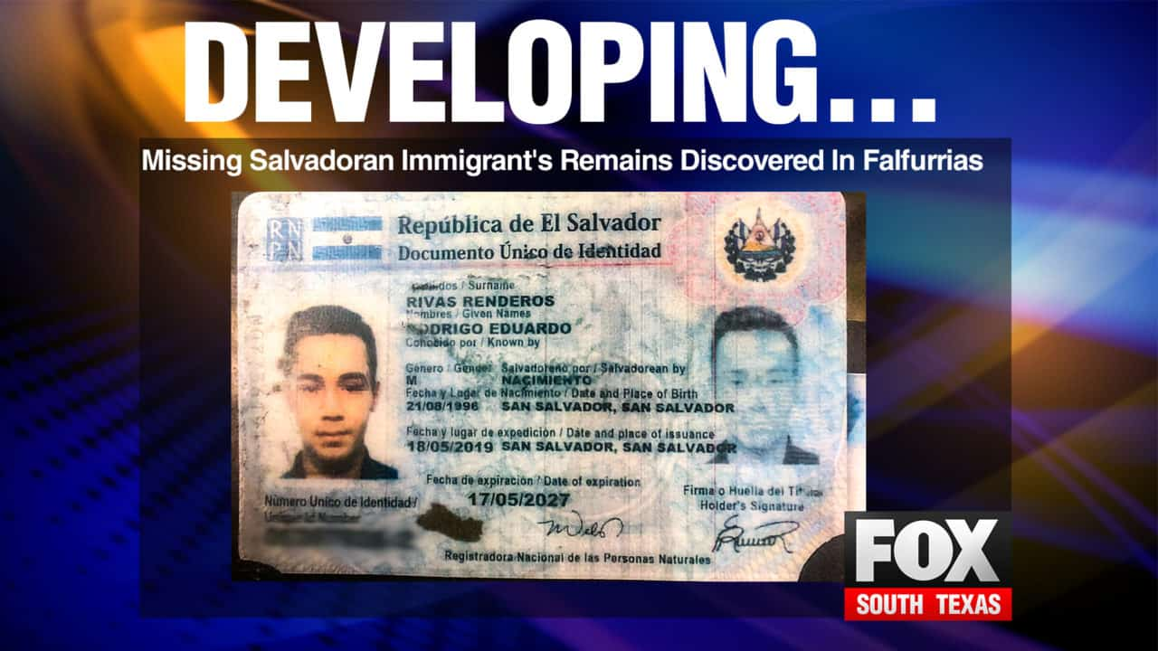 « Missing Salvadoran Immigrant's Remains Discovered In Falfurrias 1
