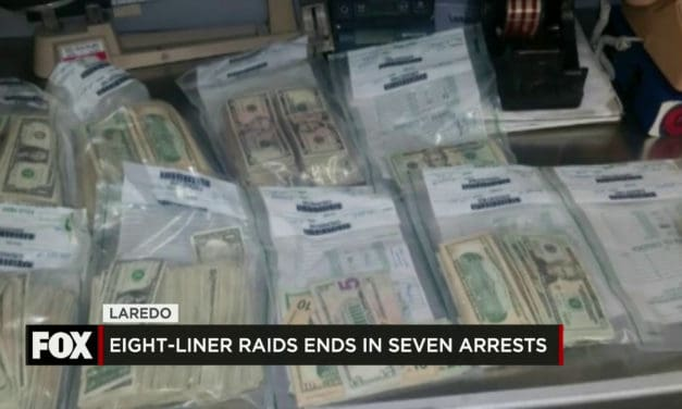 8-Liner Raids End in Seven Arrests