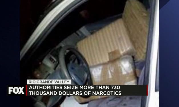 Agents Seize Over $730,000 in Narcotics Along the RGV This Weekend