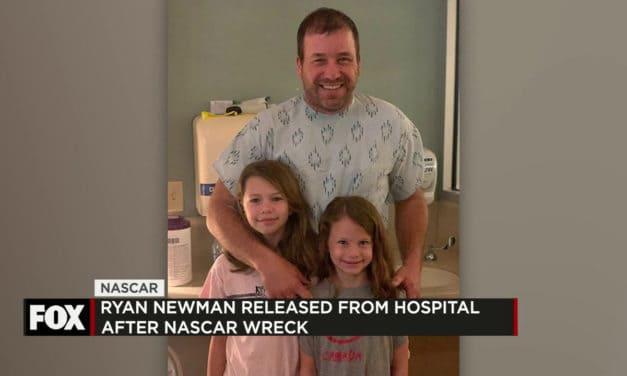 Ryan Newman released from the hospital And More in Today's Sports Report