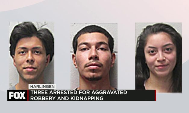 3 Arrested for Aggravated Robbery and Kidnapping