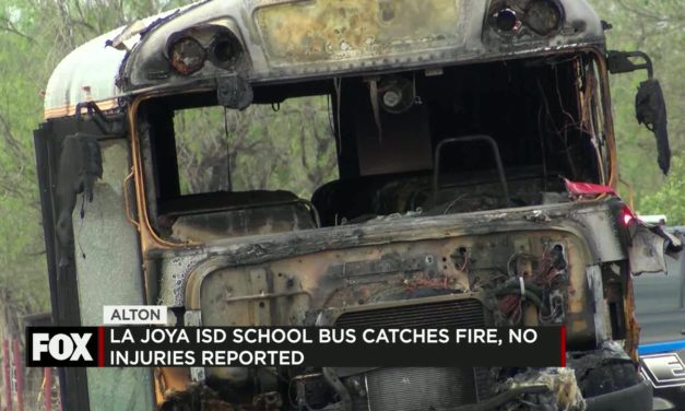 School Bus Catches Fire, No Injuries Reported