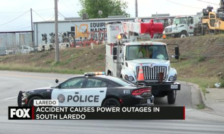 Accident Causes Power Outages Throughout South Laredo