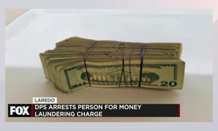DPS Seize More than $10,000; Suspect Charged with Money Laundering