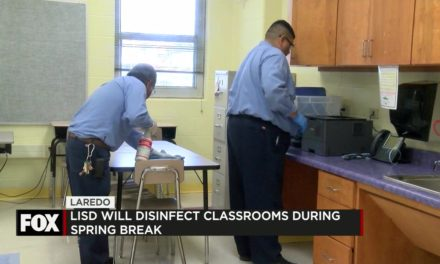 Laredo Schools Continue Disinfection Protocols Throughout Spring Break