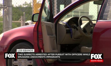 2 Arrested After Pursuit While Smuggling Undocumented Immigrants
