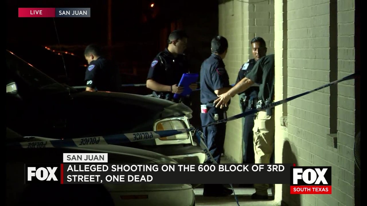 Alleged Shooting In San Juan, 1 Dead