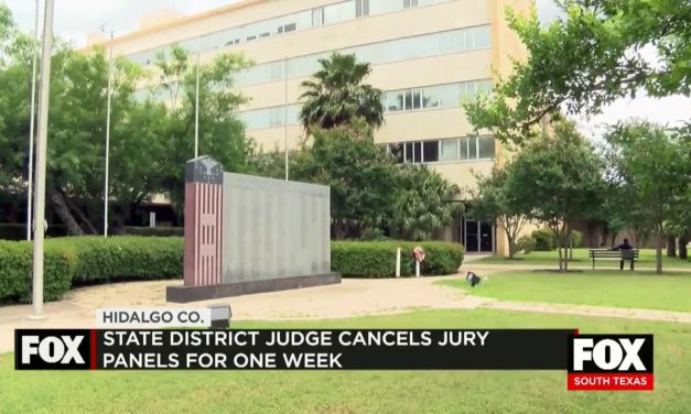 State District Judge Cancels Jury Panels for 1 Week