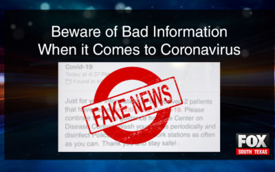 Beware Of Bad Information When It Comes To Coronavirus