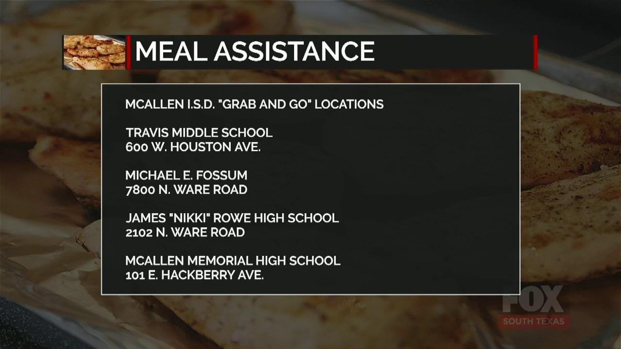 School Districts Providing Meal Assistance To Students