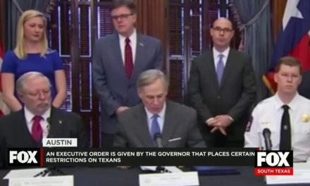 Texas Governor Abbott Declares A Public Health Disaster