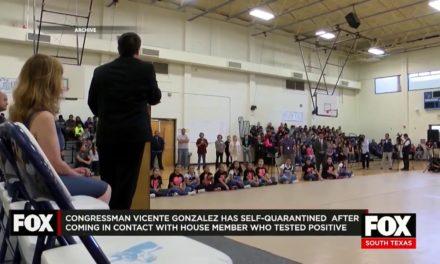 Congressman Vicente Gonzalez announces he is in self-quarantine