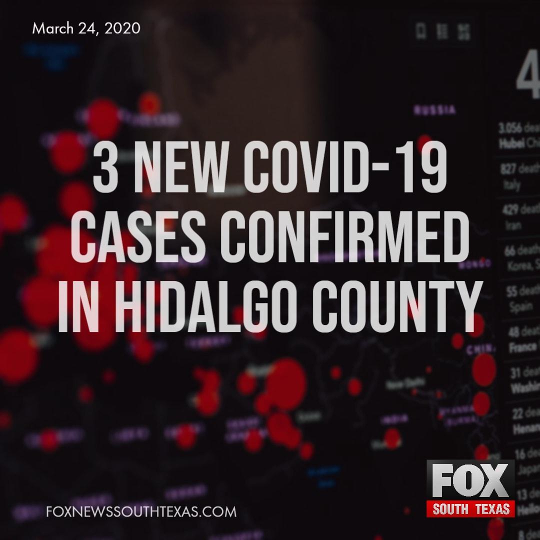 3 New COVID-19 Cases Confirmed In Hidalgo County