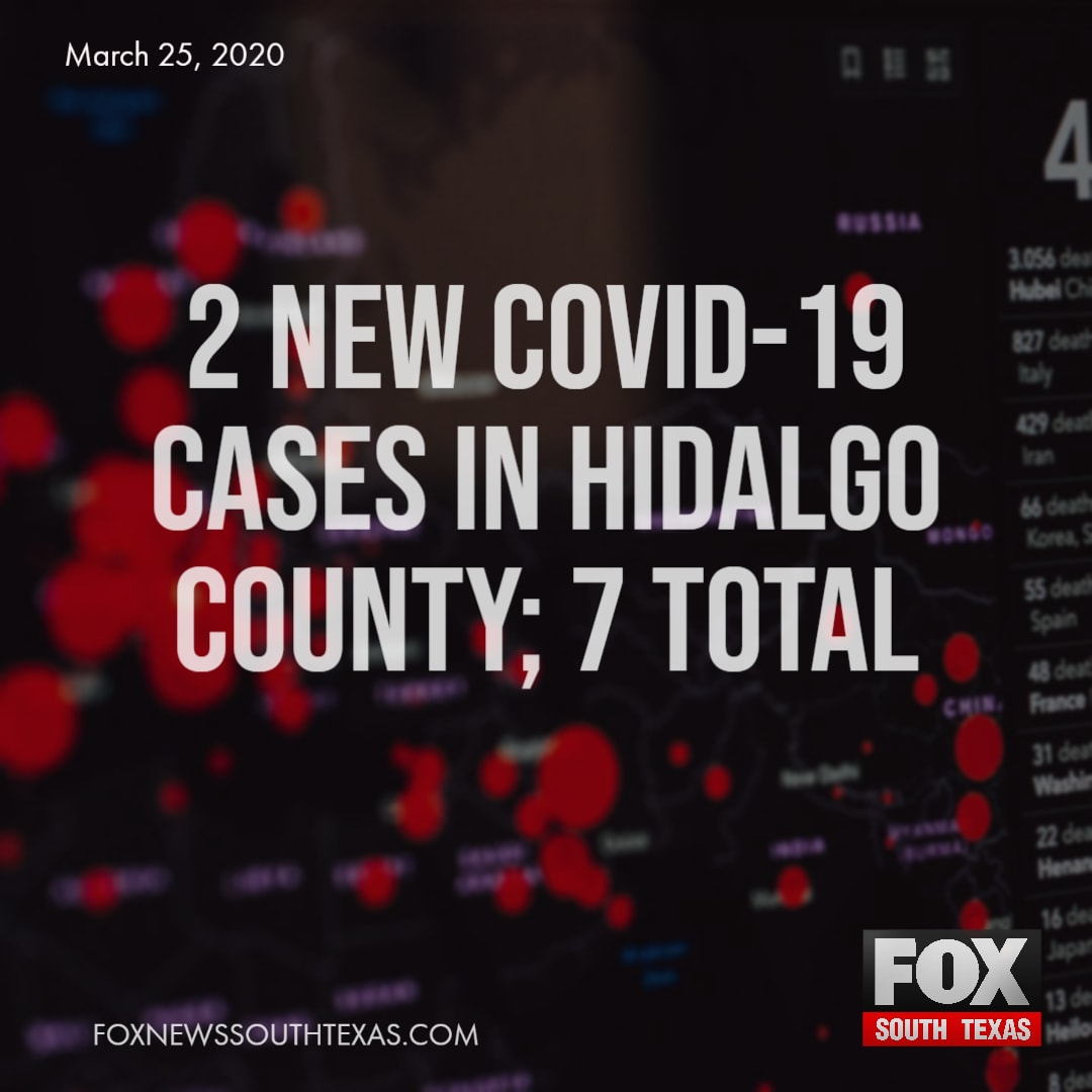 2 New COVID-19 Cases in Hidalgo County; 7 Total